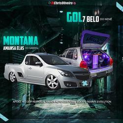CD Montana Amansa Elas do Gabriel e Gol