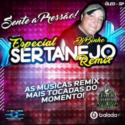 Cd Dj Binho Especial Sertanejo Remix