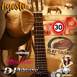 CD TOP 30 SERTANEJO AGOSTO