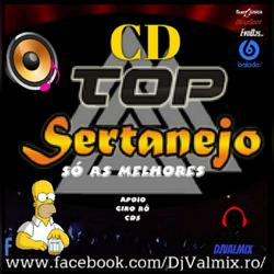 CD TOP SERTANEJO SO AS MELHORES