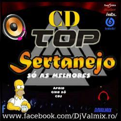 CD TOP SERTANEJO SO AS MELHORES