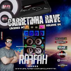 Carretinha Rave Volume 4-HIP HOP GRAVAO