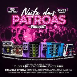 Noite das Patroas BY Funi Fest