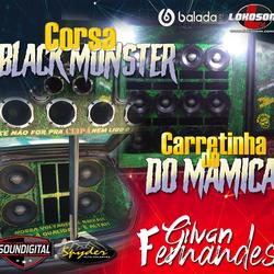 Corsa Black Monster Carretinha do Mamica
