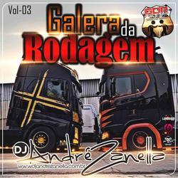 CD GALERA DA RODAGEM VOLUME 3 AO VIVO