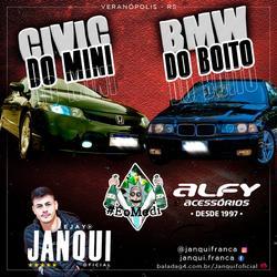 CD Civic do Mini e Bmw do Boito