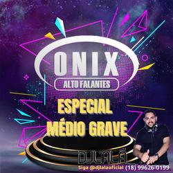 Onix Alto Falantes Especial Medio Grave