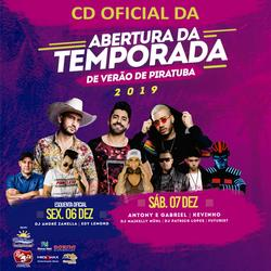 CD ABERTURA DA TEMPORADA  PIRATUBA 2019