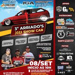 3 Arriados Show Car - DJ Luan Marques
