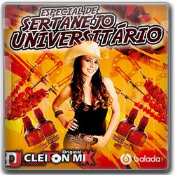 CD ESPECIAL DE SERTANEJO UNIVERSITARIO