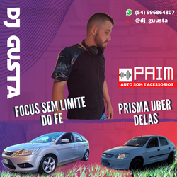 CD PAIM AUTOSOM FOCUS DO FE PRISMA UBER