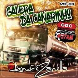 CD GALERA DA CANARINHO VOLUME 3 AO VIVO