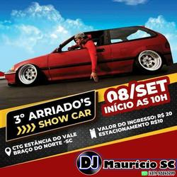 CD 3 ARRIADOS SHOW CAR