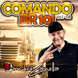 CD COMANDO BR 101 VOLUME 8 AO VIVO