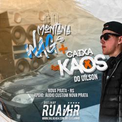 CD MONTANA DO WAG E CAIXA KAOS DO UILSON