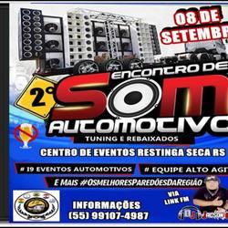 ENCONTRO DE SOM  RESTINGA SECA RS