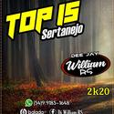 01 CD Top 15 Sertanejo 2K20 By Dj William RS 549.9185-1648