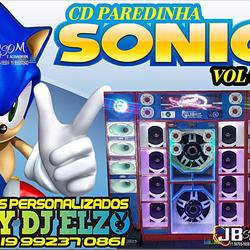CD PAREDINHA SONIC VOL 03 BY DJ ELZO