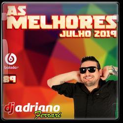 AS MELHORES - JULHO 2019 - CD VOL 89