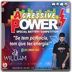 00  CD BATERIAS AGRESSIVE POWER ESP NO FERVO BY DJWILLI