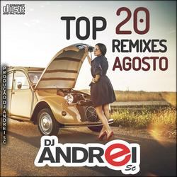 CD Top 20 Remixes Agosto 2k19