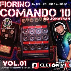 Fiorino Comando 10  Vol 1 Dj Cleiton Mix