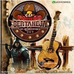 CD PAIXAO SERTANEJA SO AS MELHORES VOL 9