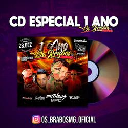 CD Funk Os Brabos 2020