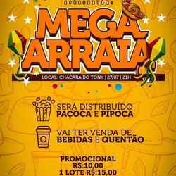 Mega Arraia Das Equipe - DJ Luan Marques