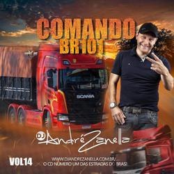 CD COMANDO BR 101 VOLUME 14 AO VIVO