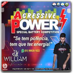 CD BATERIAS AGRESSIVE POWER ESP NO FERVO