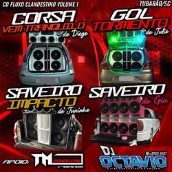CD FLUXO CLANDESTINO VOLUME 1 - DJ OCTAV