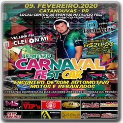 CD PRIMEIRO CARNAVAL FEST CAR Dj Cleiton