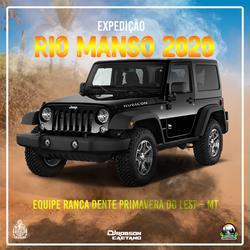 EXPEDICAO RIO MANSO 2020 DE JEEP