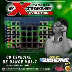 CD PAREDÃO EXTREME EVOLUTION VOL.07  Dj Guilherme Mix