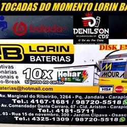 CD LORIN BATERIAS AS TOPS DO MOMENTO