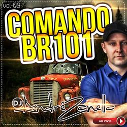 CD COMANDO BR 101 VOLUME 9  AO VIVO