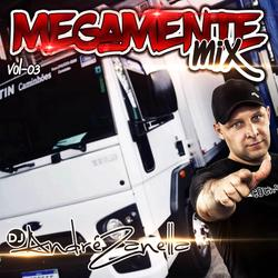 CD MEGAMENTE MIX VOLUME 3 AO VIVO