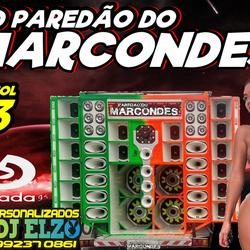 CD PAREDAO DO MARCONDES  VOL 03 DJ ELZO