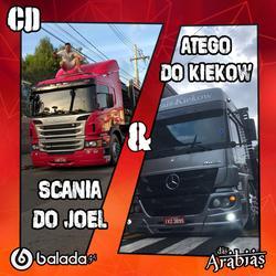 Scania do Joel e Atego do Kiekow