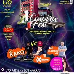 CD Caipira Fest  Dj Cleiton Mix